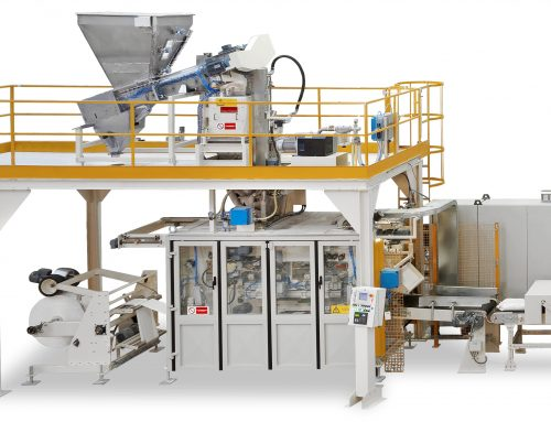 The company BOGA TECNICA will present Concetti's FFS bagging machine, the cement and premixed bag in recyclable plastic at EXPOSOLIDOS 2019
